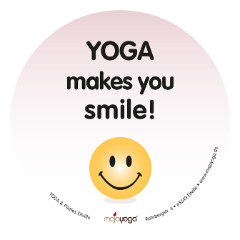 Yoga makes you smile