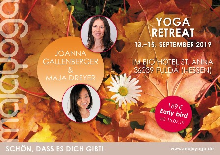Yoga Retreat September 2019